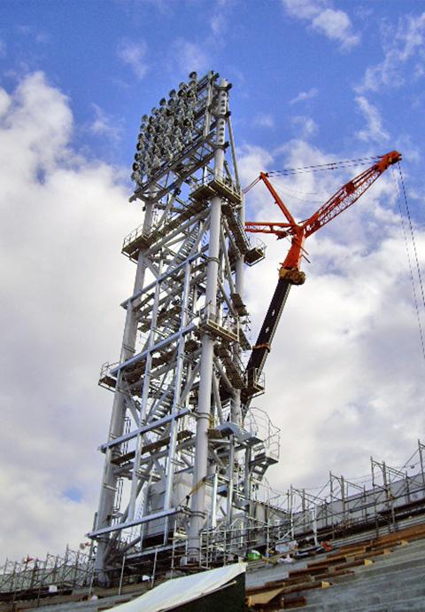阪神甲子園球場照明鉄塔