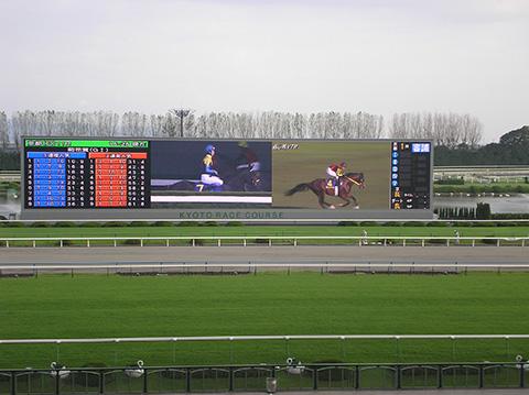京都競馬場大型映像装置